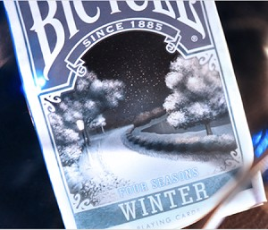 Bicycle Four Seasons (Winter) Playing Cards
