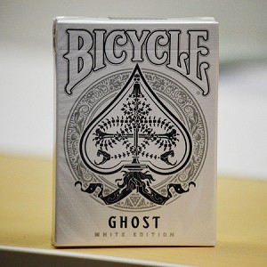 Bicycle Ghost White Edition Playing Cards Deck