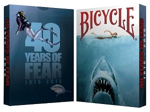 40 Years of Fear Bicycle Jaws Playing Card Deck