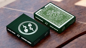 2nd Edition Black Roses Playing Cards Deck