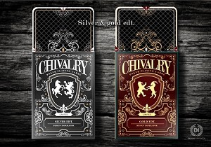 Chivalry Silver Edition Playing cards Deck