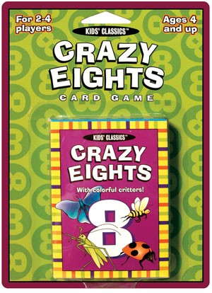 crazy eights kids classics card game
