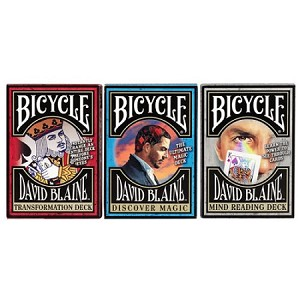 David Blaine Learn Magic 3 Decks Set of Playing Cards Brand New