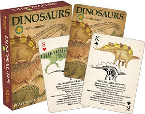 Smithsonian - Dinosaurs Playing Cards Deck