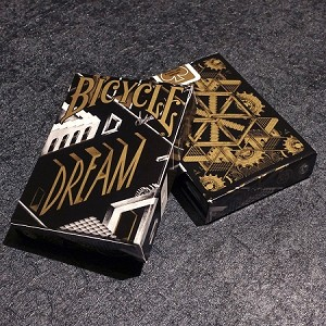 BICYCLE DREAM PLAYING CARDS : BLACK GOLD EDITION