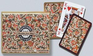Florentine Double Deck Bridge Size Playing Cards by Piatnik