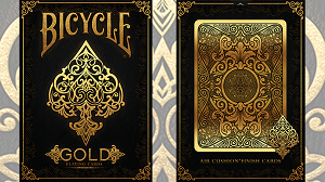 Bicycle Gold Playing Cards Deck