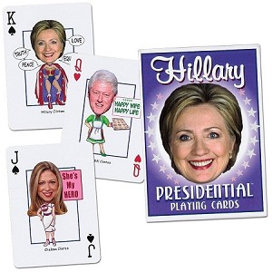 Hillary Presidential Playing Cards