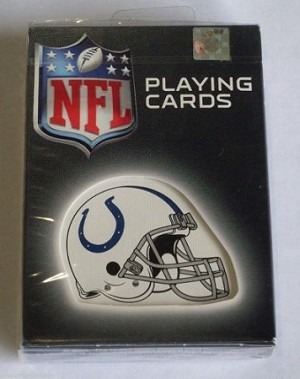 INDIANAPOLIS COLTS PLAYING CARDS