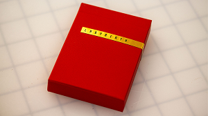 Limited Edition Red Labyrinth Playing Cards (Numbered and Sealed)