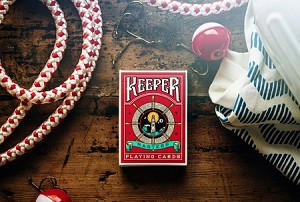 Red Keeper Playing Cards Deck