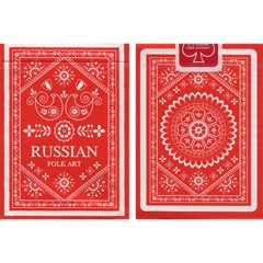 """Russian Folk Art"" Playing Cards New Deck"