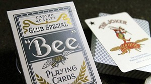 Bee Titanuim Blue Playing Cards