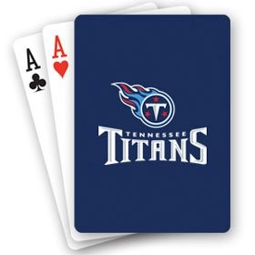 TENNESSEE TITANS PLAYING CARDS