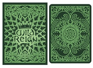 Wild Reign Evergreen Playing Cards Deck