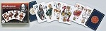 Shakespeare Double Deck Bridge Size Playing Cards by Piatnik