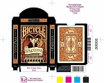 Bicycle Venexiana Black Playing Cards