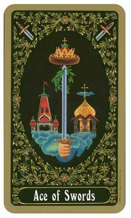 US Games Russian Tarot of St.Petersburg