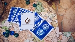 The Hidden King Blue Luxury Edition Playing Cards Deck