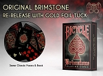 Bicycle Brimstone Red Playing Cards Limited Edition