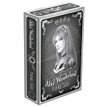 Alice of Wonderland Silver Playing Cards