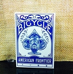 Bicycle American Frontier Blue Deck Playing Cards