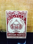 Bicycle American Frontier Predator Edition Red Deck Playing Cards