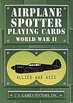 Airplane Spotter Civil War II Playing Cards New