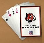 CINCINNATI BENGALS PLAYING CARDS