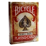 Ellusionist 1800 Vintage Playing Cards Red