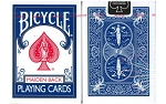 Bicycle Maiden Back Playing Cards Deck in Blue Brand New