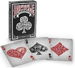 Bicycle Different Black Playing Cards Deck Limited Edition New