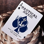 Blue Crown Nautical Playing Cards Blue Color