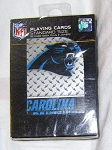 CAROLINA PANTHERS PLAYING CARDS