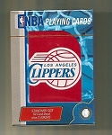 L.A CLIPPERS PLAYING CARDS