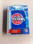 DETROIT PISTONS PLAYING CARDS