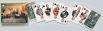 Glorious America Double Deck Bridge Size Playing Cards by Piatnik