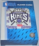 SACRAMENTO KINGS PLAYING CARDS