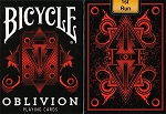 Bicycle Oblivion Playing Cards Red