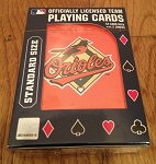 BALTIMORE ORIOLES PLAYING CARDS