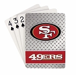 SAN FRANCISCO 49ERS PLAYING CARDS