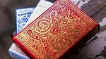 Blood Red Edition Playing Cards Deck