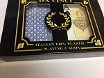 Da Vinci NEVE Playing Cards, 2-Deck Bridge size jumbo index