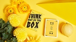 Keep Smiling Yellow V2 Playing Cards by Bocopo