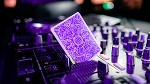 Nightclub UV Edition Playing Cards by Riffle Shuffle