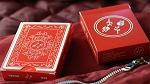 Red Roses Playing Cards