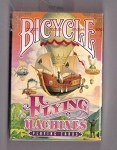 BICYCLE FLYING MACHINES PLAYING CARDS.