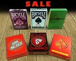Latest playing Cards Deck Set on Sale (Bicycle Hesslers, Starlight)