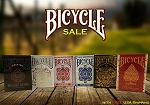 Bicycle 6 Playing Cards Deck Set on Sale (Bellezza, Black Rose)