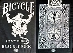 Bicycle Legacy Edition Black Tiger Playing Cards